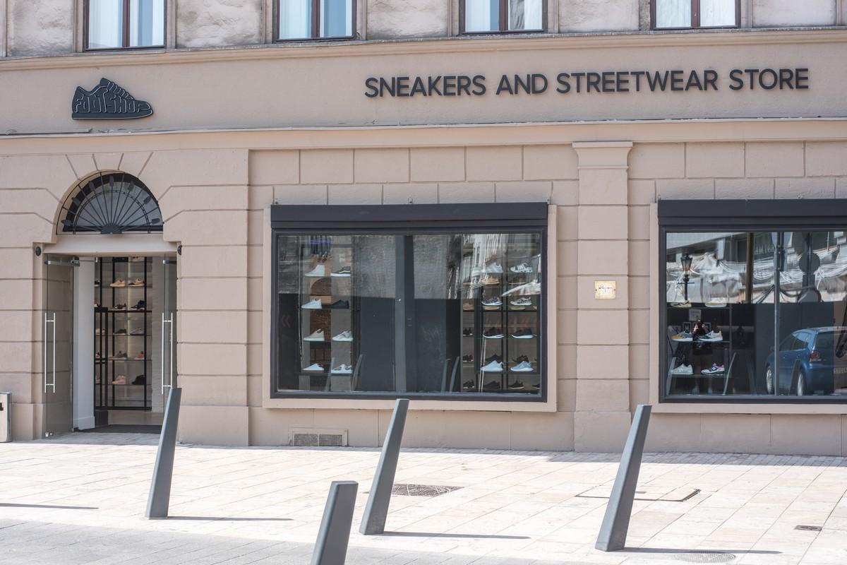 Nová budapešťská prodejna Footshopu