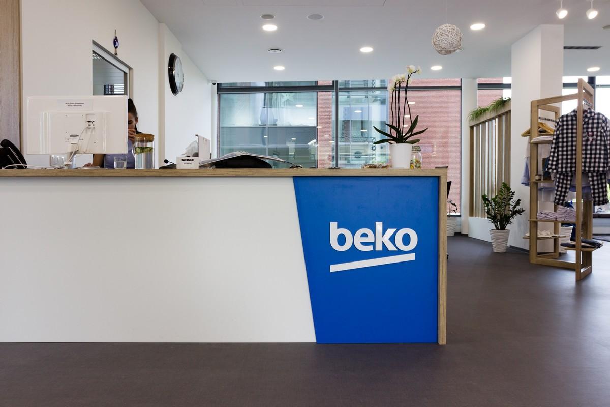 Nový a jediný showroom značky Beko
