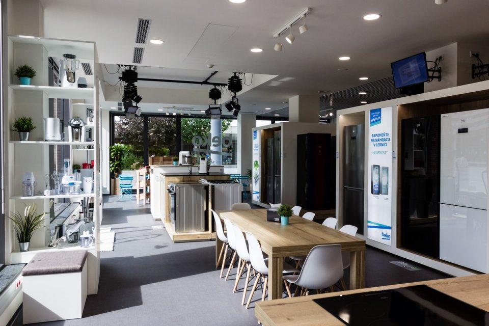 Spotřebiče Beko mají první vlastní showroom v Česku, v pražských Butovicích