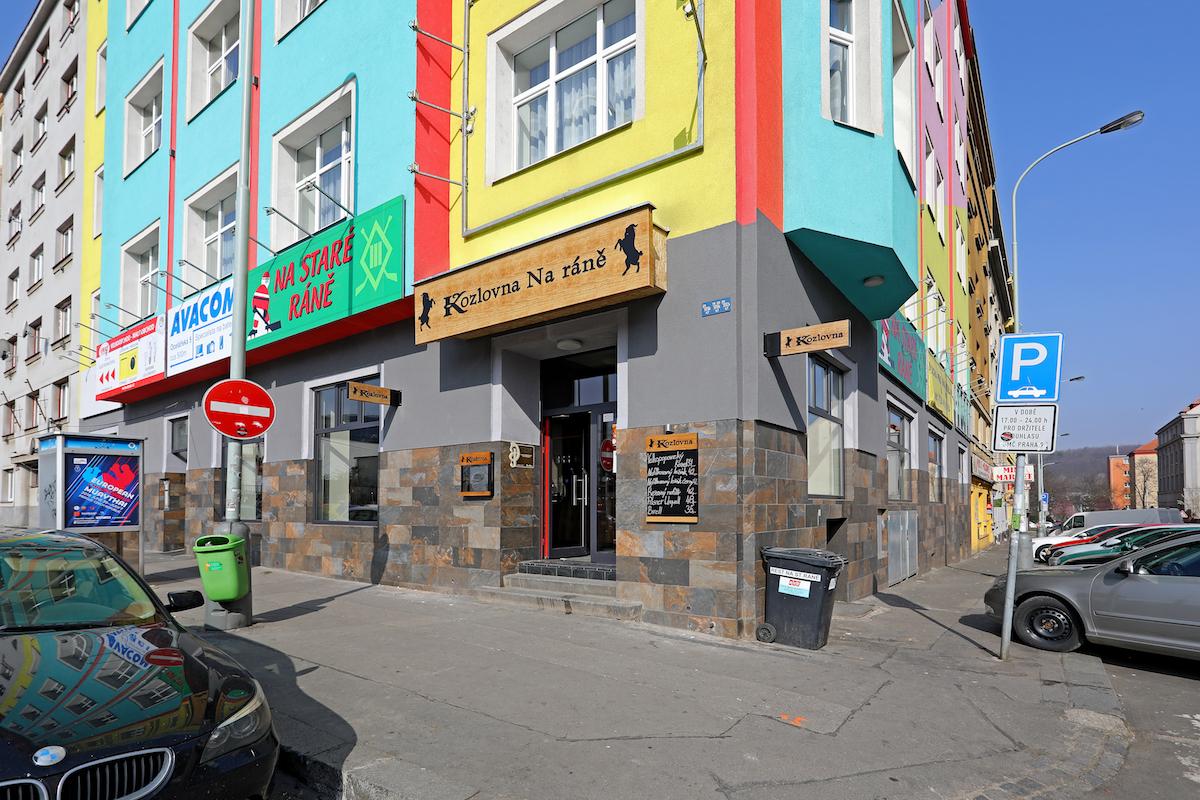 Kozlovna Na Ráně v Drahobejlově ulici na Praze 8