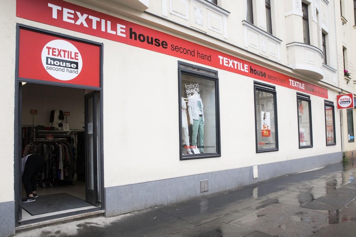 Nová prodejna Textile House v Dělnické