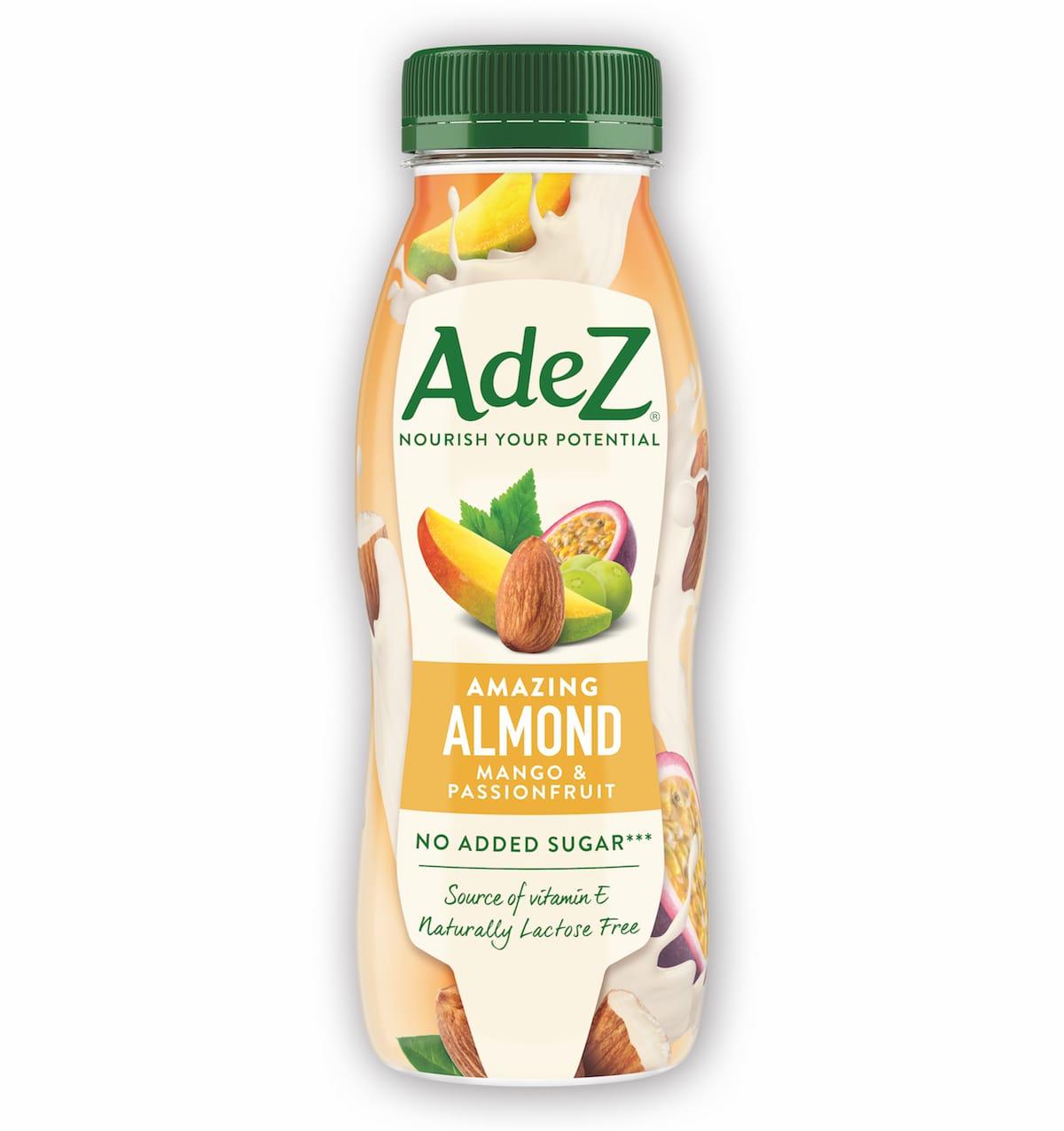 Ilustrační podoba balení rostlinného mléka AdeZ z produkce Coca-Coly
