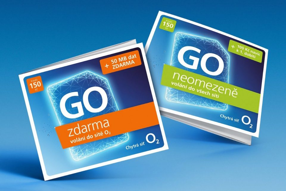 O2 vrací na trh předplacené karty Go