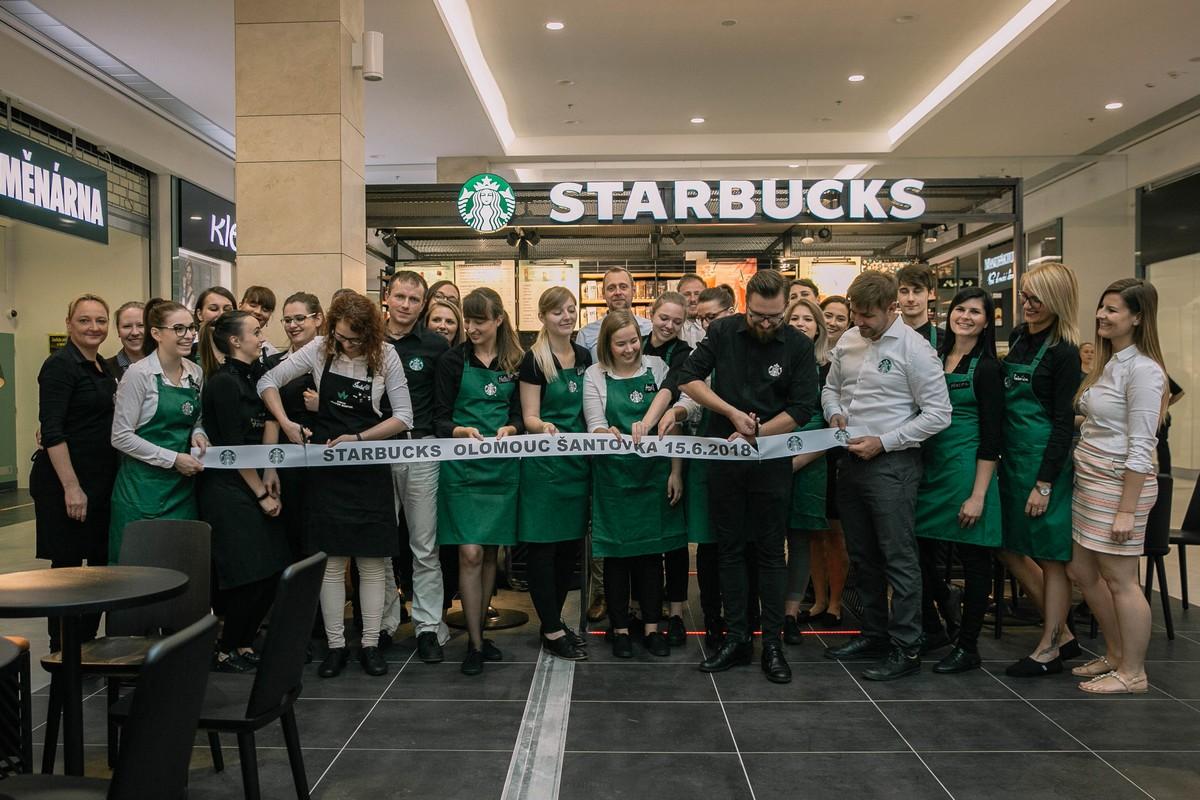 Nový a první Starbucks v Olomouci