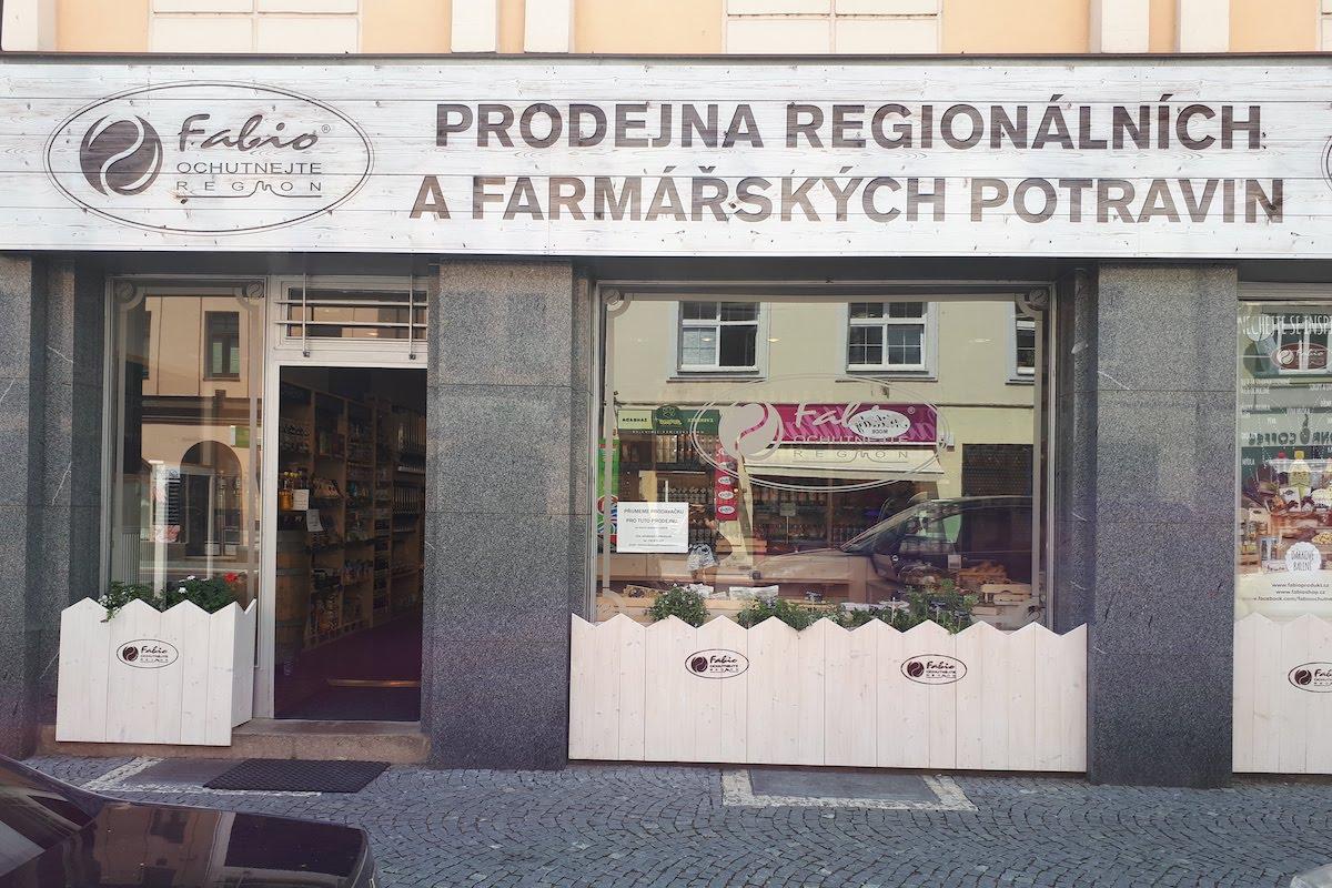 Prodejna Fabio ochutnejte region v Hradci Králové