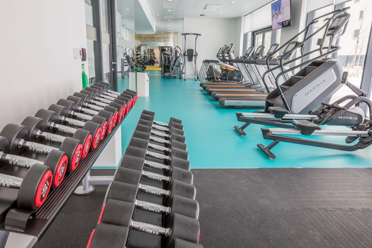 Fitness centrum v kancelářských prostorách už dnes téměř patří ke koloritu