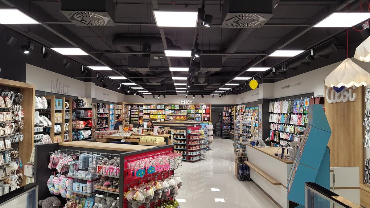 Nová prodejna Albi v obchodním centru Bondy