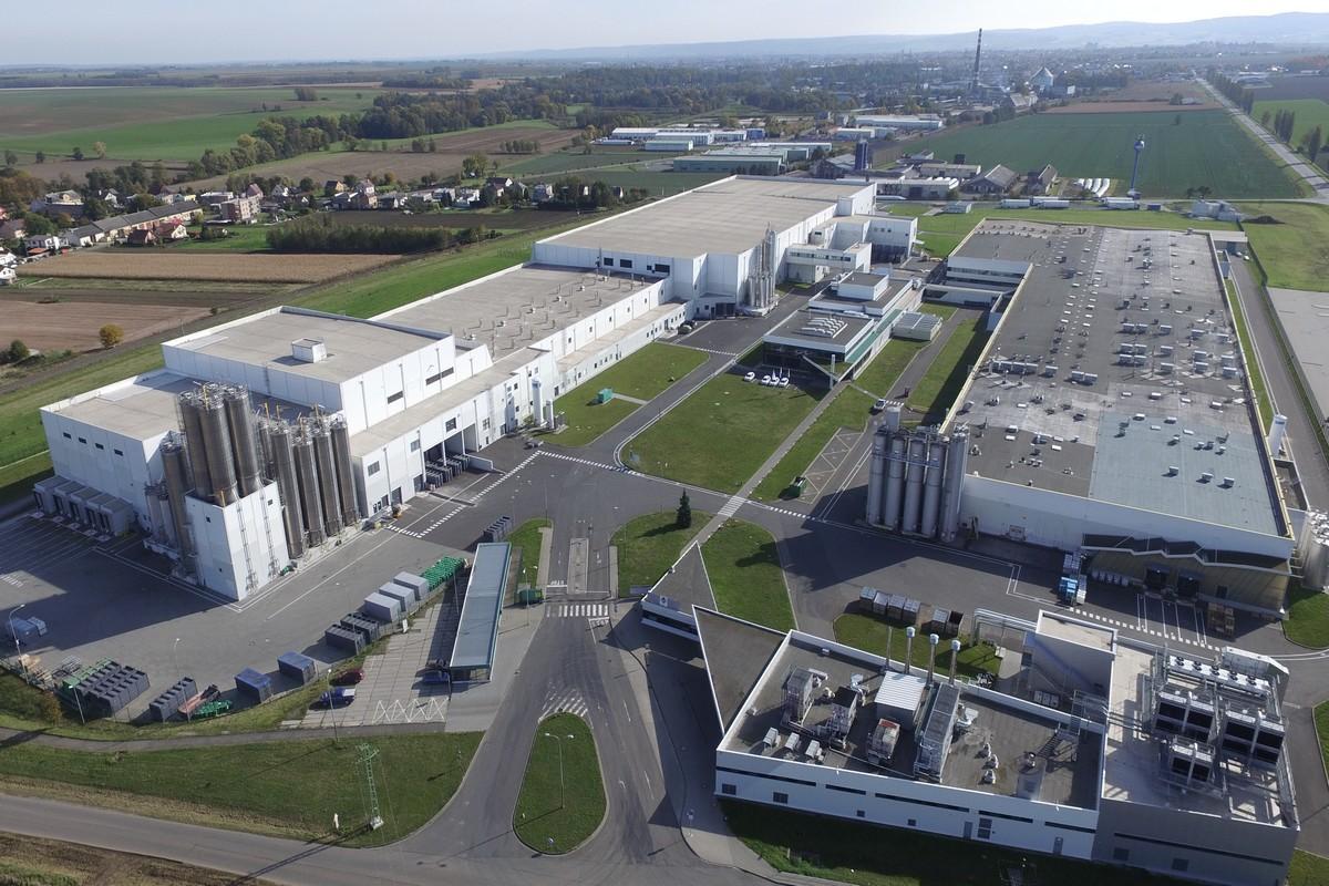 Továrna Mondelez v Opavě