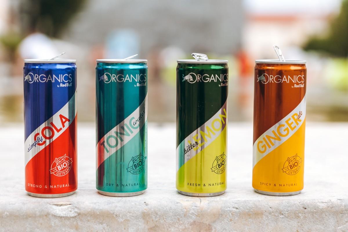 Nové limonády Red Bull Organics budou od července dostupné i v Česku