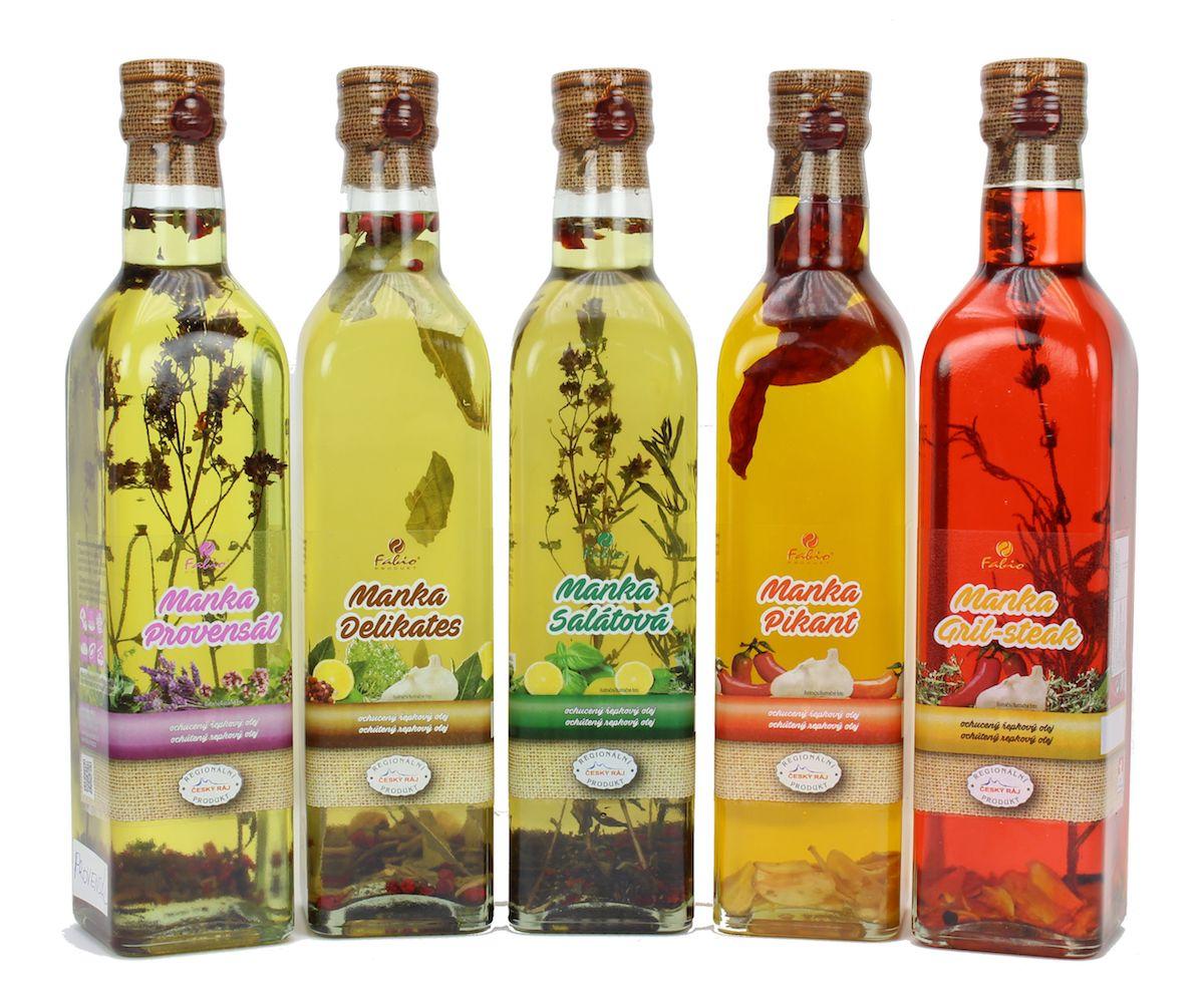 Nabídka speciálních olejů Fabio produkt