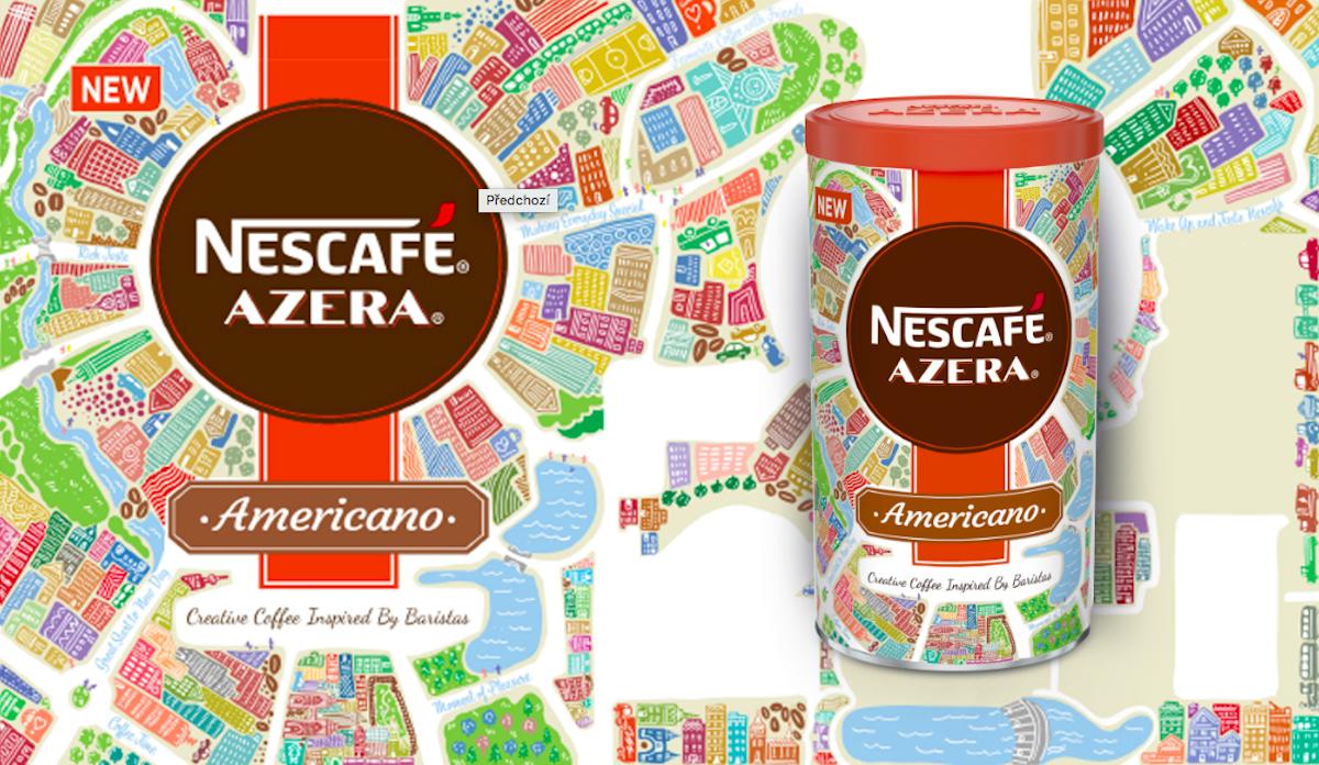 Nescafé Azera 2018: Taste of the city, vítězný návrh Štěpánky Koutné a Tomáš Krčmáře