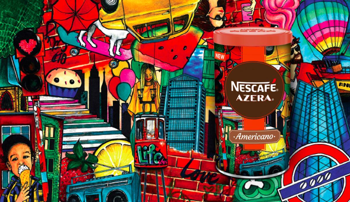 Nescafé Azera 2018: Taste of the city, návrh Lenky Kollárové pro Slovensko
