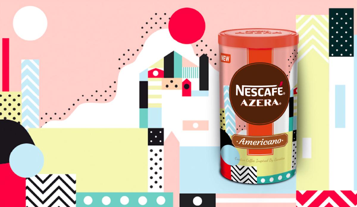 Nescafé Azera 2018: Taste of the city, návrh Adriany Danekové pro Slovensko