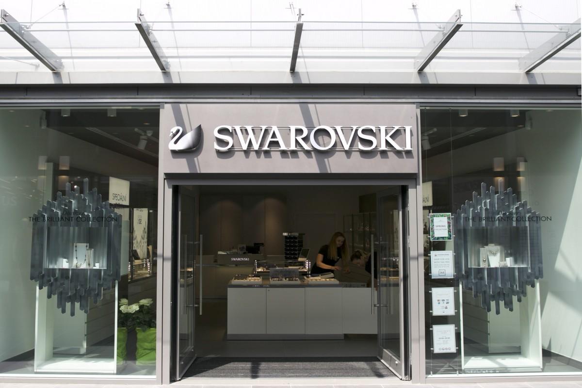 Outletový butik Swarovski