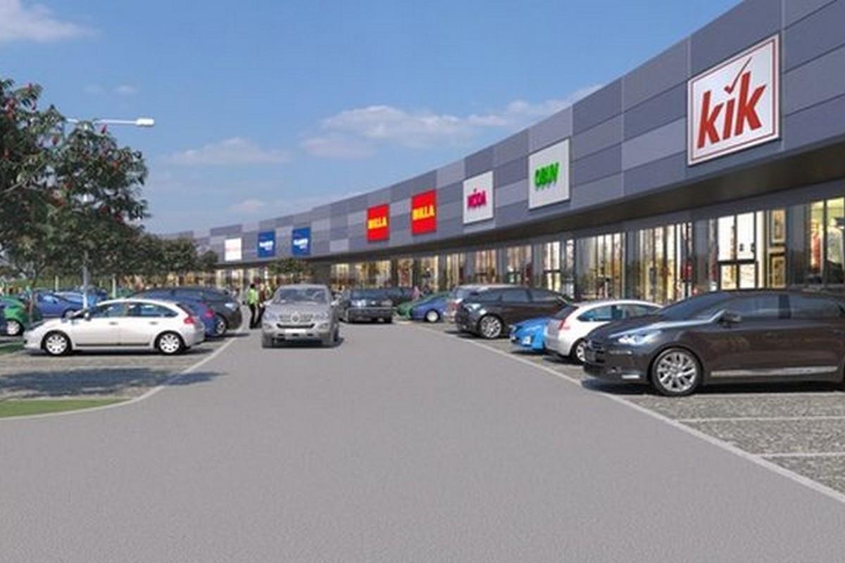 Nový retailový park ve Štěrboholích