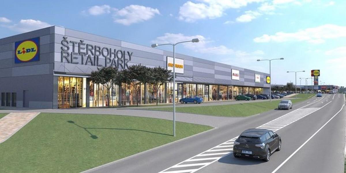 V novém retail parku se objeví Lidl. Zdroj: web Štěrboholy retail park