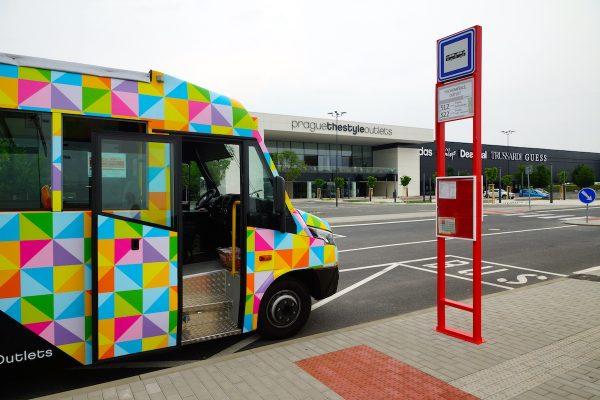 Prague The Style Outlets zavádí kyvadlovou dopravu z centra Prahy