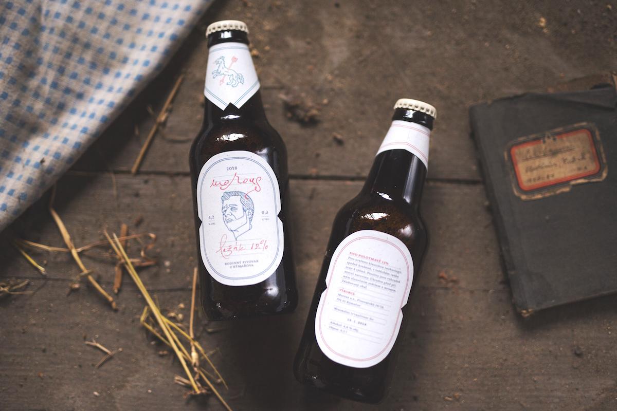 Nový design piva Morous