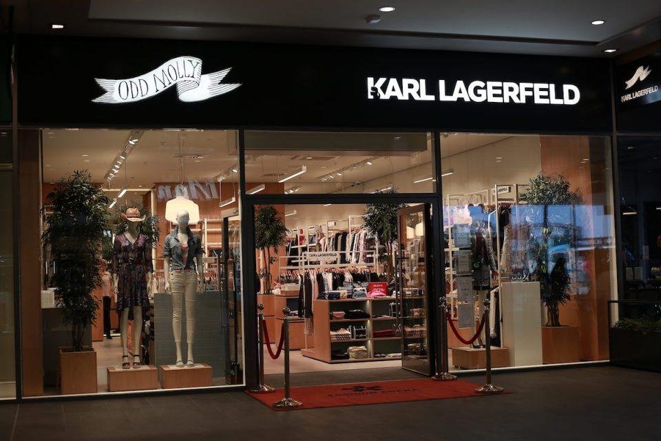 Značky Odd Molly, Karl Lagerfeld a Lee & Wrangler ve Fashion Areně v novém