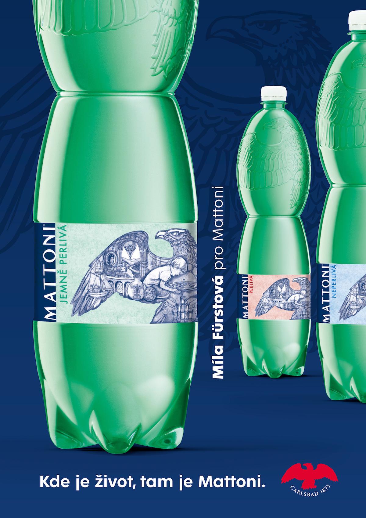 Podoba limitované edice etiket Mattoni