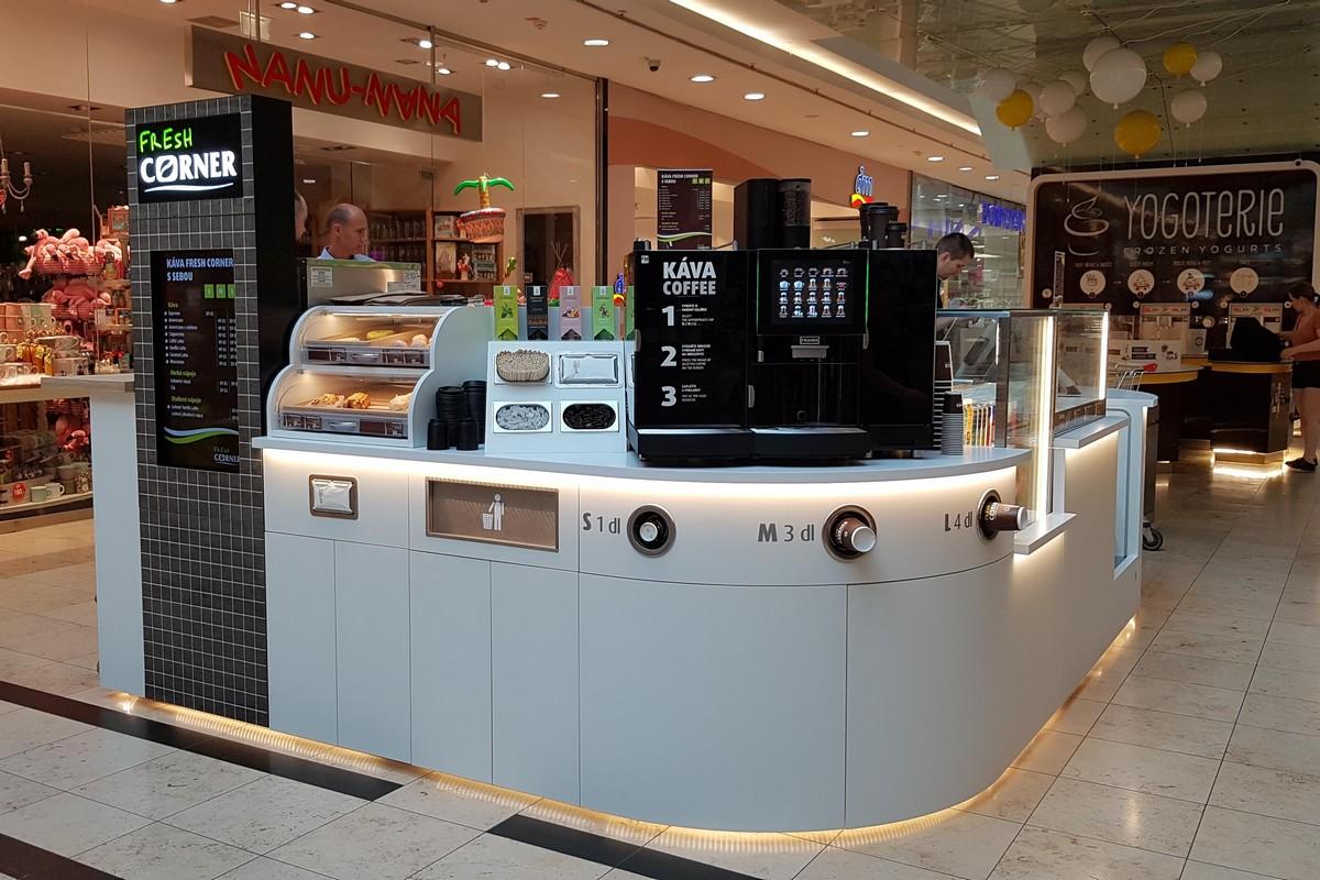 Nový kiosek Fresh Corner čerpacích stanic Mol
