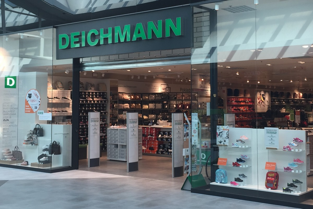 Deichmann v obchodním centru Centro Zlín