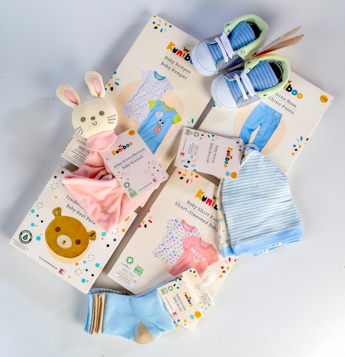 Oblečení pro novorozence a předškolní děti Kuniboo