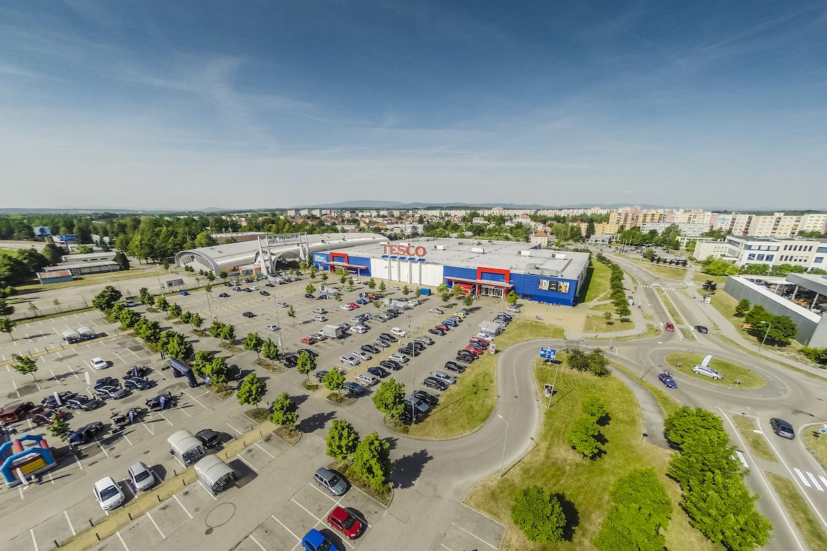 Hypermarket Tesco v Českých Budějovicích. Foto: Tomáš Malý
